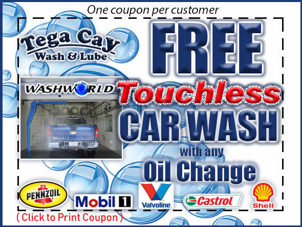 FREE-car-wash-touchless-razor-washworld-oil-change-coupon-discount-pennzoil-shell-rotella-mobil-1-synthetic-valvoline-castrol-gtx-tega-cay-wash-&-lube-fort-mill-lake-wylie-steele-creek