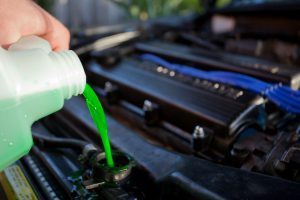 Engine coolant Antifreeze