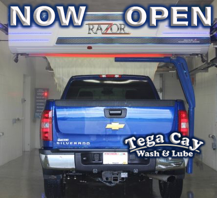 Car wash-truck at Tega Cay